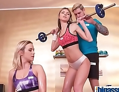 Girly buddies seduce gym instructor(Cristal Caitlin &amp_ Gina Gerson) 01 vid-08