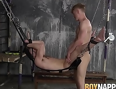 Horny twink Tyler delivers a rough and hard anal banging
