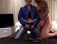 Newcastle Milf Couple Boots and Tattoos (Part 1)