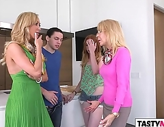 Stepmom Brandi Love takes care of Katy Kiss