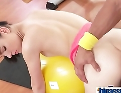 Young tight teen has workout orgasm(Anie Darling) 03 clip-20