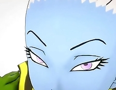 Dragon ball super vados sucking dick
