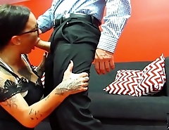 Chantelle Fox gets her co worker fired so he gets some payback