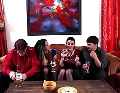 Nadia Styles and Charley Chase in a nasty foursome