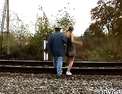 Young whore makes old lad happy