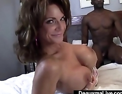 Mature Mommy Deauxma &amp_ Ashlee Chambers Share Big Black Cock!