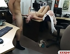 Customers wife pounded hard and deep at the pawnshop