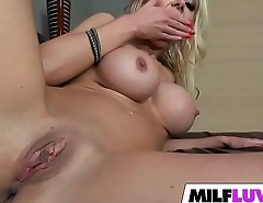 Naughty Busty Blonde MILF Nina Elle