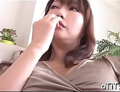 Exciting fingering for large tits oriental