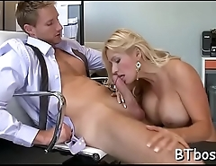 Astonishing pov blowjob action