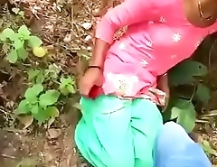 Indian Girl sex with Boyfriend in the Jungle