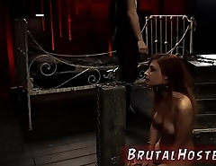 Red head bdsm cage and virtual sex for women Poor little Jade