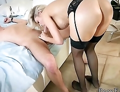 Mom friend'_s daughter ass to mouth Romantic Family Dinner