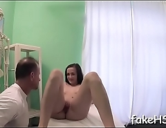 Wicked doctor wishes to fuck around