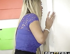 Brazzers - Big Tits at School - (Tegan James) - Washing Her Mouth Out With Cum
