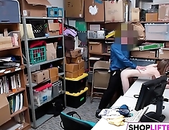 Shoplifting Gal Catarina Gets Drilled